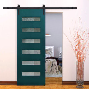 Sliding Barn Doors- Birch Beverly Contemporary Door • 8´0˝ Tall
