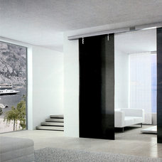 Contemporary Living Room by Space Design Miami