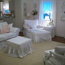 Traditional Living Room Slipcover Heaven