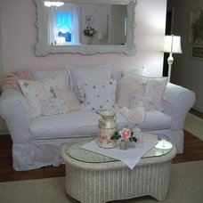 Traditional Living Room Slipcover Heaven