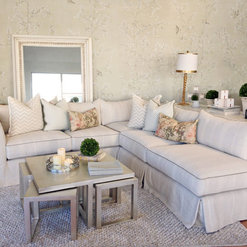 Sectionals Slipcovered And Upholstered