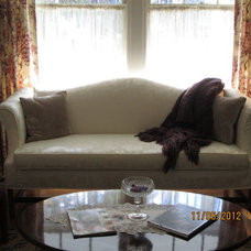Traditional Living Room by The Seamstress Shop