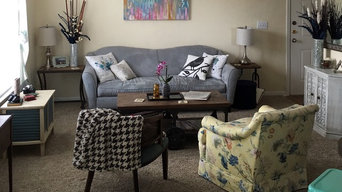 Small Apartment - Feng Shui Consulting - No New Furniture - Living Room