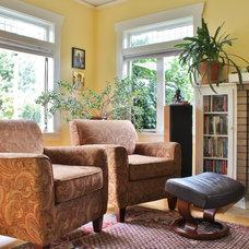 Craftsman Living Room by Kimberley Bryan