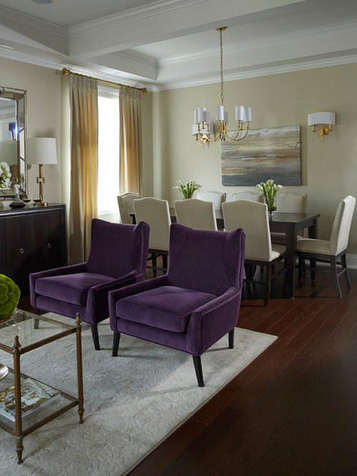 Small but elegant living dining room for Elegant small dining rooms