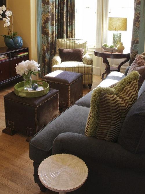 Eclectic Living Room Idea In San Francisco