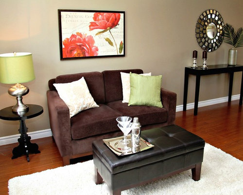 Example of a classic living room design in TorontoLiving Room Staging   Houzz. Living Room Staging. Home Design Ideas