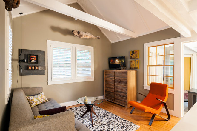 Modern Living Room by Cape Associates, Inc.