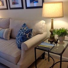 Contemporary Living Room by Lee Ann Burkhart Interiors