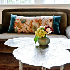 Eclectic Living Room by Fiore Interiors