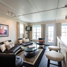 Beach Style Living Room by Becki Peckham
