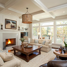 Farmhouse Living Room by Interiors By Holly