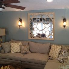 Traditional Living Room by Ironwood Custom Builders, Inc
