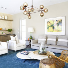 Contemporary Living Room by Chancey Design