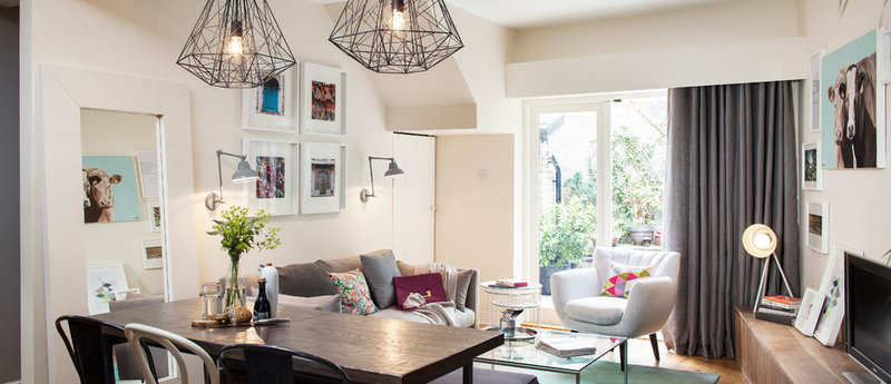 Contemporary Living Room by Kingston Lafferty Design