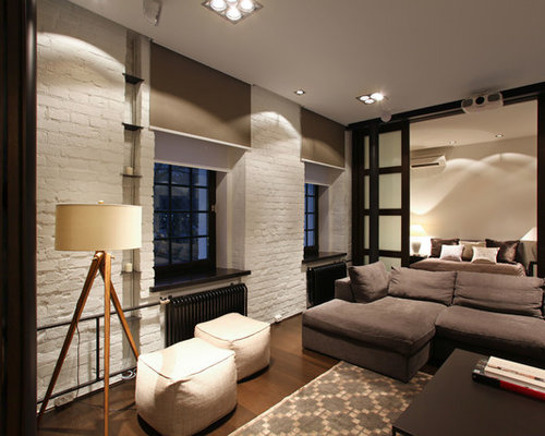 Industrial Living Room Design Ideas, Renovations & Photos ...
