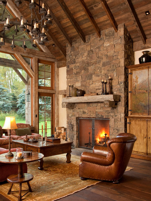 Wood Stove Living Room Design: Wood Stove Stone Surround Home Design Ideas, Pictures