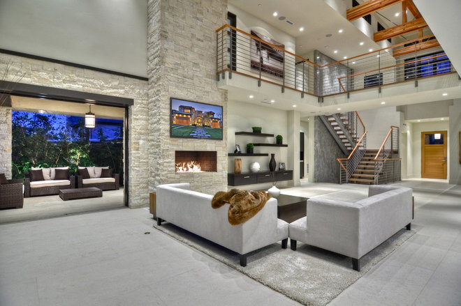 Contemporary  by Brandon Architects, Inc.