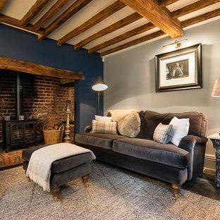 Farmhouse living room in Surrey.