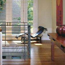 Contemporary Living Room by Brett Webber Architects, PC