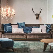 Transitional Living Room by usona