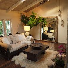 Mediterranean Living Room by Tara Design