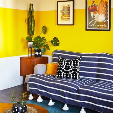 Sofa Corner with Coffee Table