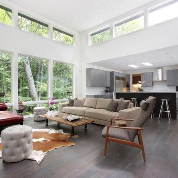 Soft Contemporary Home