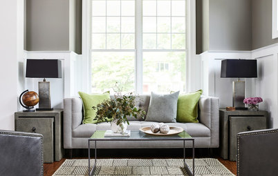 Houzz Tour: Soft Industrial Style for a Classic Home