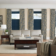Contemporary Living Room by 3 Day Blinds