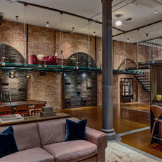Modern Living Room by David Howell Design