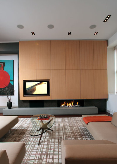 Living Room With Tv And Fireplace Design 7 ways to rock a tv and fireplace combo