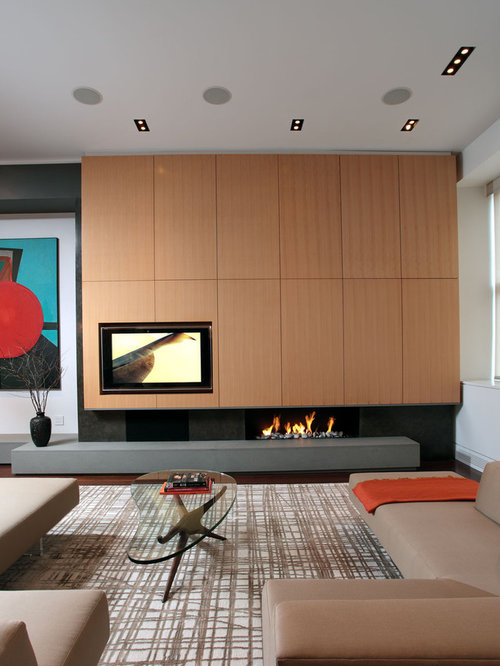 Living Room Electric Fireplace Home Design Ideas Pictures