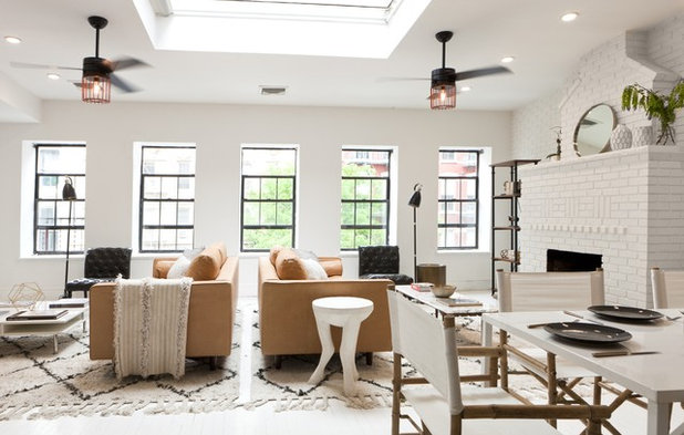 Contemporary Living Room By JWS Interiors