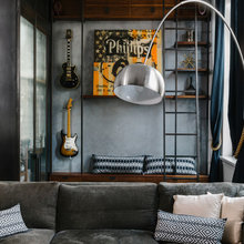 Room of the Day: Custom Storage and Furnishings Rock This Living Room