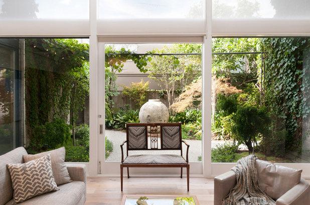 Contemporary Living Room by FranchiDesignPtyLtd
