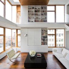 Modern Living Room by Zakrzewski + Hyde Architects