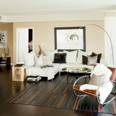 Modern Living Room by Susan Manrao Design