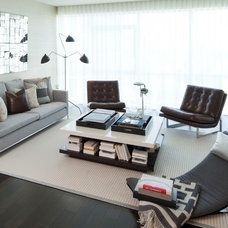 Modern Living Room by Susan Manrao Design