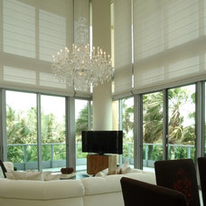 Contemporary Living Room by Total Window, Inc.