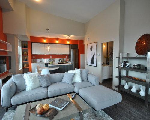 linoleum living room living room design ideas renovations photos with a - Linoleum Living Room Decor