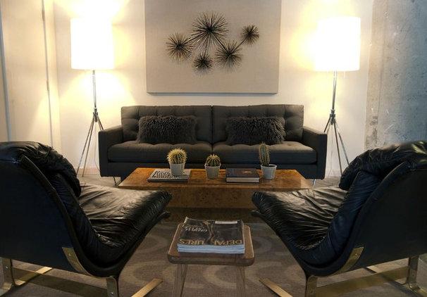 Contemporary Living Room by Soledad Alzaga