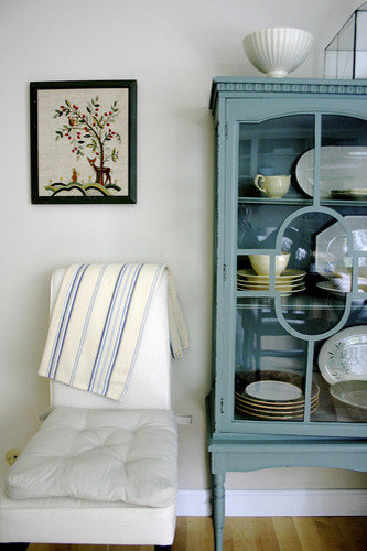 Painted China Cabinet Ideas Cottage Chic