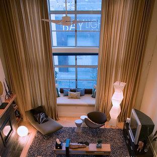 SOMA Loft - Living Room by Kimball Starr Interior Design