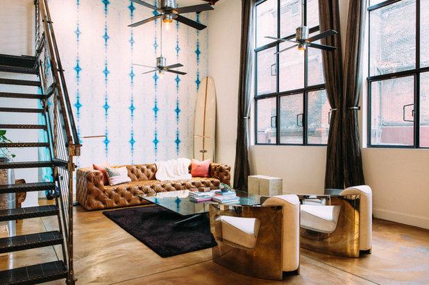 Industriel Salon By Daphne Nauleau Interior Design