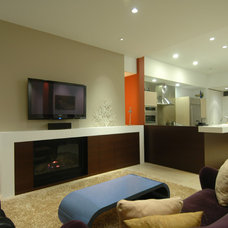 Modern Living Room by Mark Brand Architecture