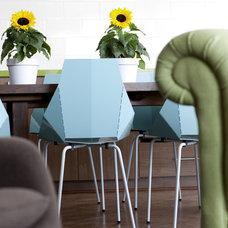 Contemporary Living Room by Niki Papadopoulos