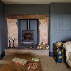 Farmhouse Living Room by Inspired Design Ltd