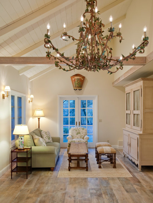 Half vaulted ceiling houzz for Half vaulted ceiling with beams