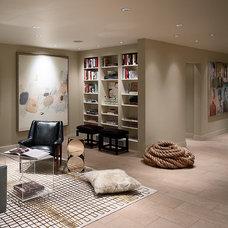 Contemporary Living Room by Steven Miller Design Studio, Inc.